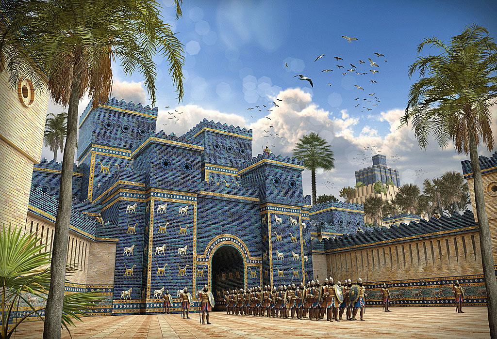 ishtar+gate+tile+history
