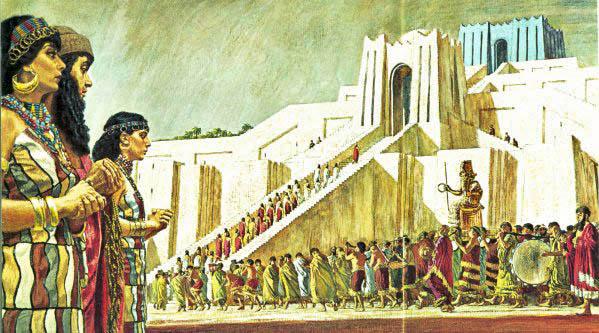 UR ZIGGURAT TO SIN MOON GOD  2100 BC